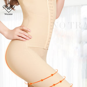 Shaper Women'S Binders Shapers Full Length Midi Sleeve Shapewear Slimming Bodysuit Faja 40100Kg 3Xl