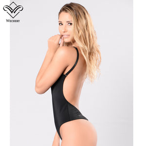 Body Shaper Bodysuit Waist Trainer Slimming Underwear Corset Backless Push Up Black Bodysuit Shaperwear Women Tops