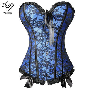 Women BustierCorset Gothic Clothing Steampunk Corset Lace Up Corsage Basque Slimming Shaper Shoulder Corset S6Xl