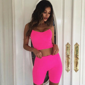Women Bodycon Sport Short Jumpsuit Romper Playsuit Short Pants Trousers