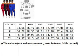 Women Clothes Summer Sets 2 Piece Women Set Top Fashion Woman Off Shoulder Crop Top Long Pants Suit Matching Plus Size
