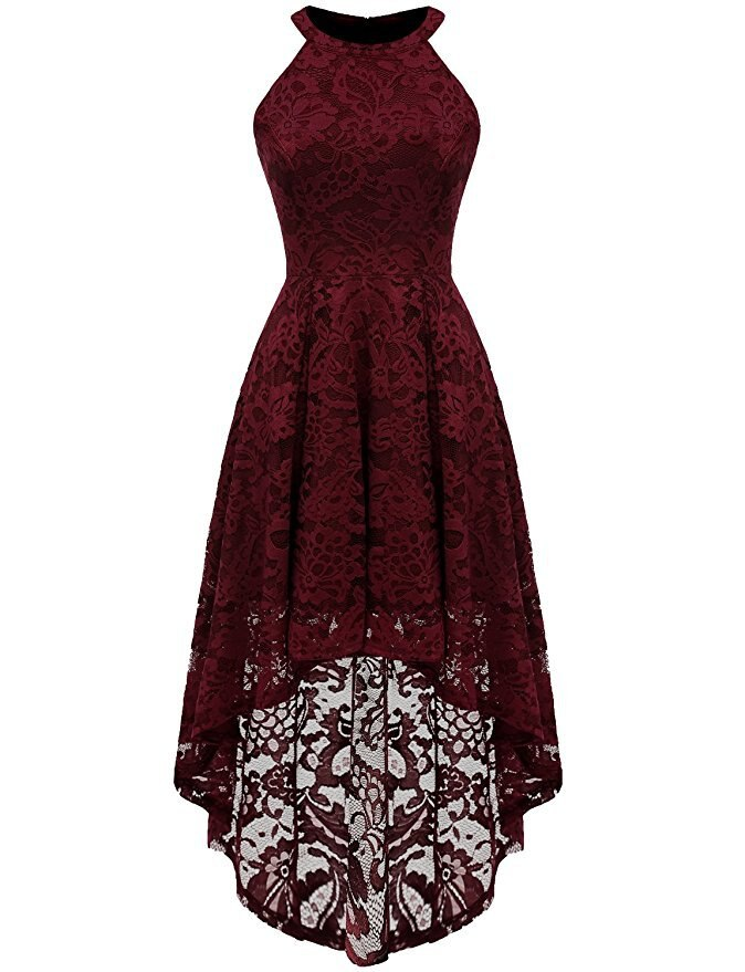 Women Year Clothes Teenager Lace Dress Elegance Asymmetrical Dress Christmas Princess Party Vestido