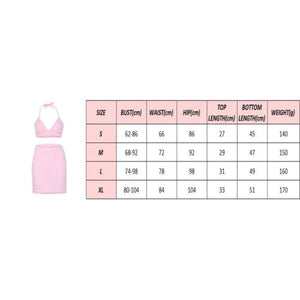 Women Sexy Plush Fluffy Clothes Set Ladies Camisole Bra Top + Mini High Waist Skirt Set Cocktail Evening Party Clubwear