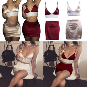 Women Sexy Solid Sleeveless Fashion Bandage Bodycon Evening Party Mini Dress