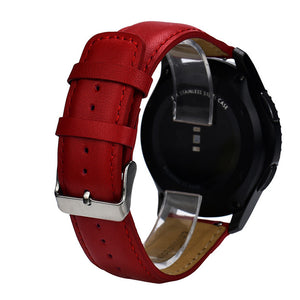 Wristband Watch Replacement Leather Watch Bracelet Strap Band Samsung Gear S3 Frontier #0703