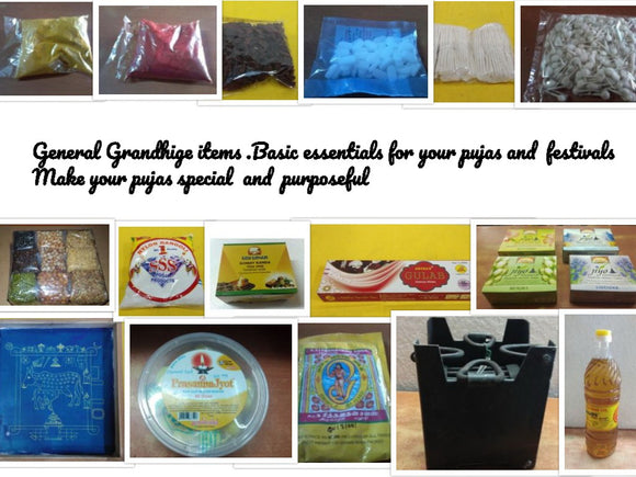 Shop for basic grandhige puja items online/offline