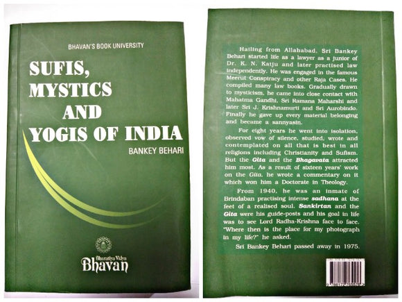 SUFIS MYSTICS AND  YOGIS OF INDIA