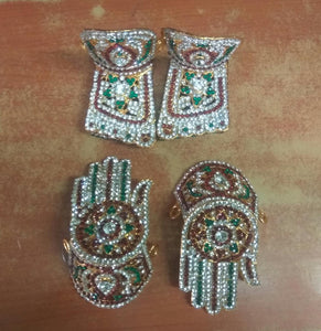 STONE ACCESSORY FOR LAKSHMI FEET AND  HANDS