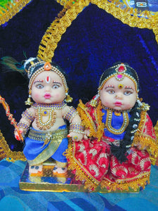 DOLLS FOR WEDDING-COUPLE DOLL SET SMALL