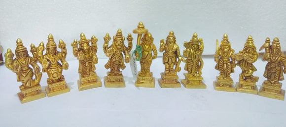 BRASS DASHAVATARA