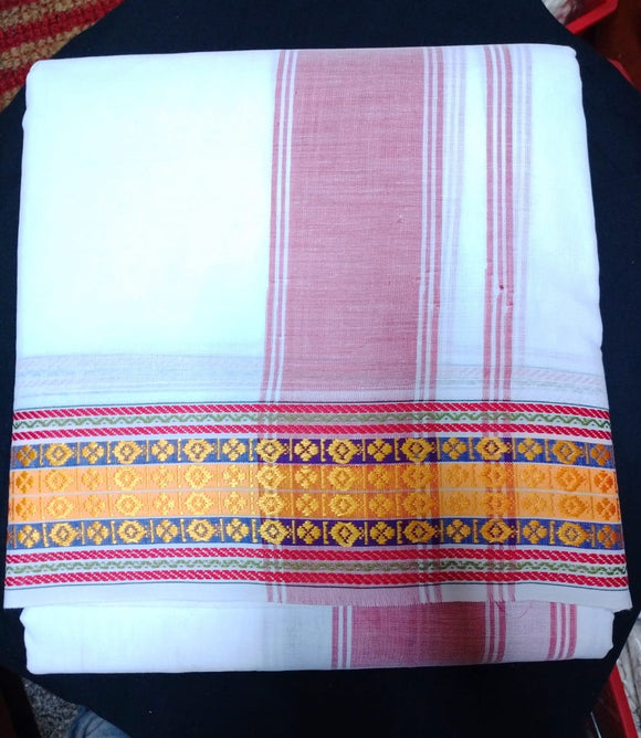 COTTON PANCHE 9X5 DIFFERENT BORDERS
