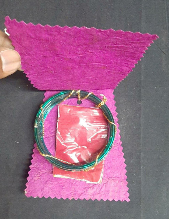 BANGLE PACK FOR GIFTING-HANDMADE PAPER