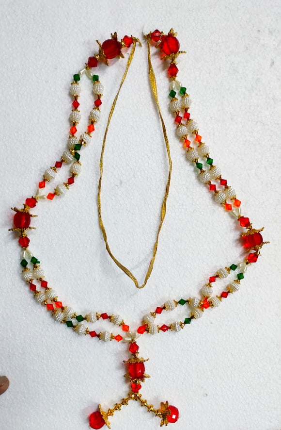 GARLAND/HAARA WITH BEADS