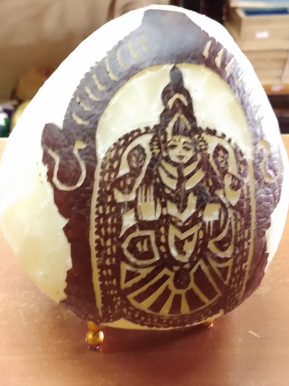 DRY COCONUT CARVING  PADMAVATHY