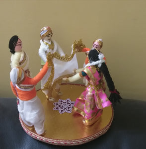 Antarpata doll set for display in weddings