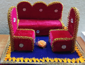 Decorated jaggery set for  weddings