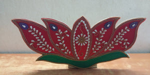 DECORATIVE LOTUS  MDF