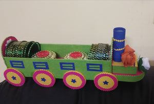 HALDI KUMKUM  TRAIN FOR WEDDINGS