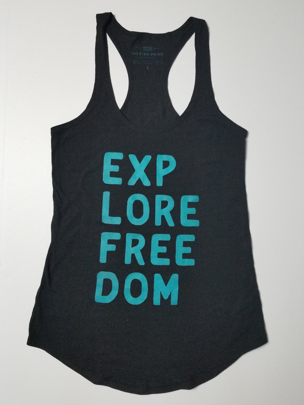 Explore Freedom Racer Back Tank