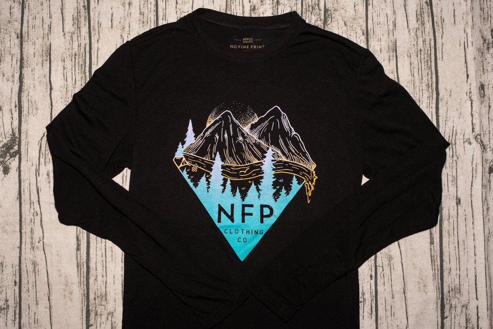 NFP Mountain Triangle Long Sleeves (2 Color Options)