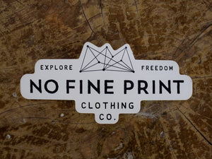 NFP Sticker (Small)