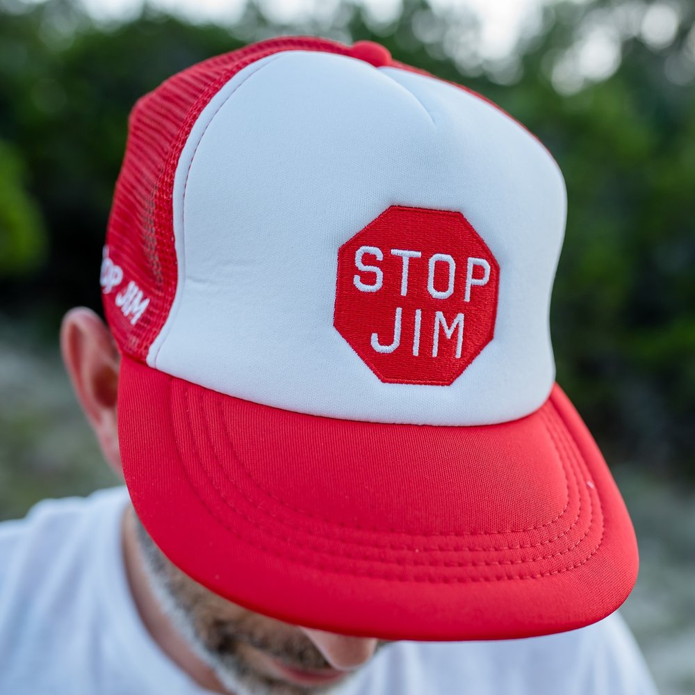 Stop Jim Trucker Hat