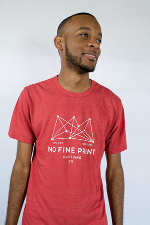 Constellation Red Tee