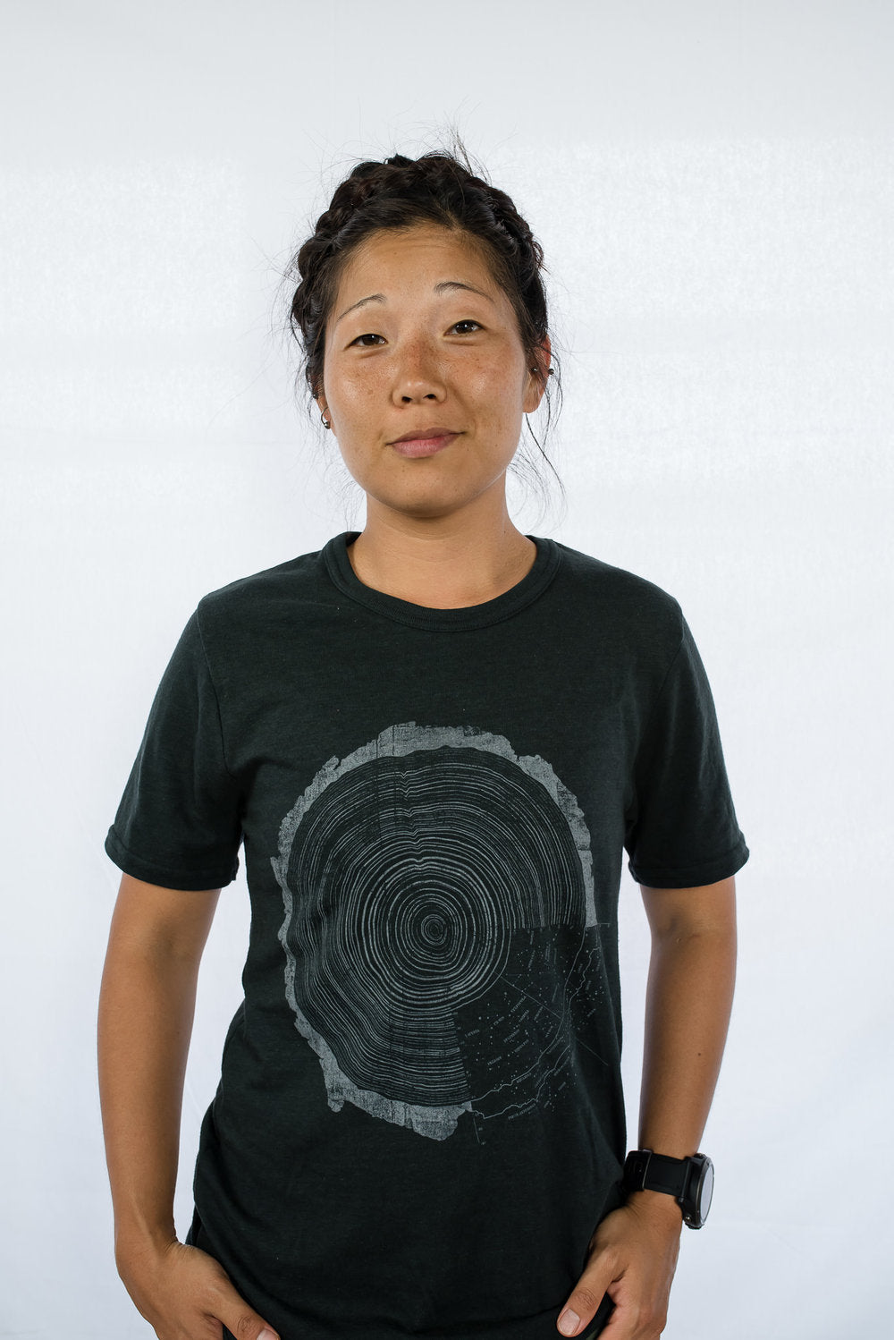 Cosmic Tree Ring Tee