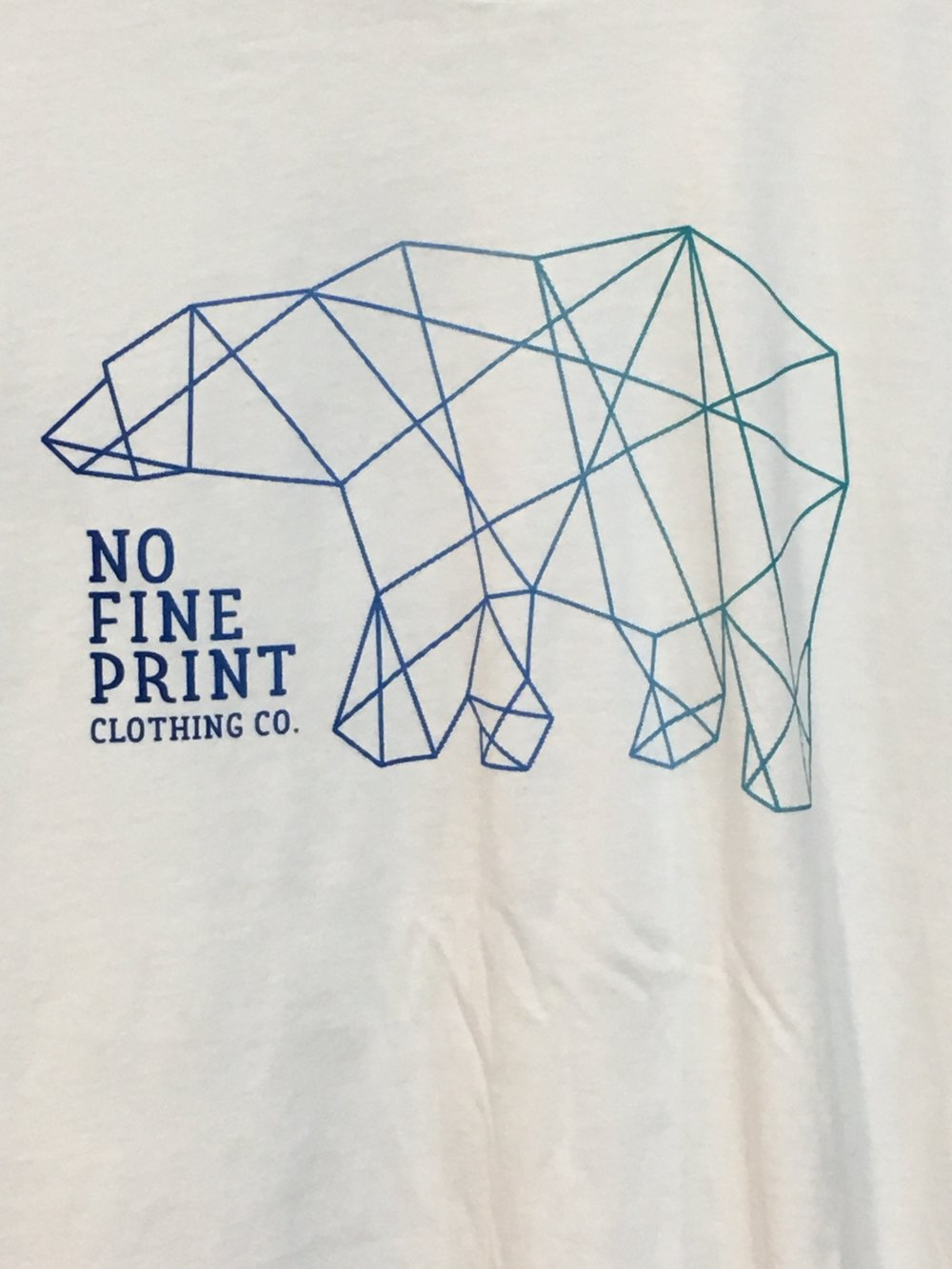 Geometric Polar Bear Tee