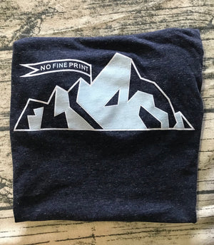 No Fine Print Mountain Tee