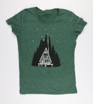 Log Cabin Tee Women's Cut