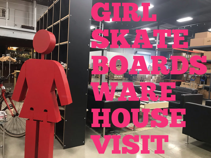 Girl Skateboards LA Visit