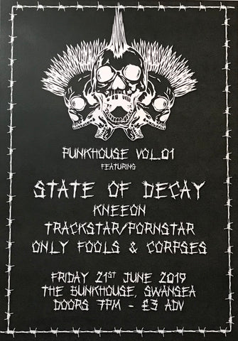 Swansea-exist-kneeon-punk-stateofdecay-bands-music-gig-beer-skateboarding