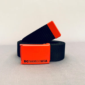 DC Web 2 Web Belt OSFA Black/Red