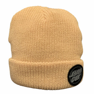 Santa Cruz Outline Dot Beanie (Bone)