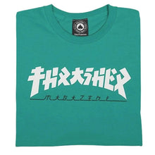 Load image into Gallery viewer, Thrasher Godzilla T-Shirt - Jade Dome