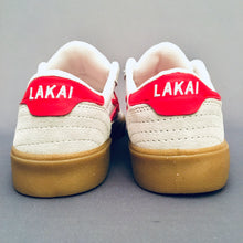 Load image into Gallery viewer, Lakai Cambridge White/Red Suede