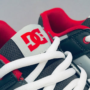 DC Shoes Pure (Youth) Grey/Grey/Red
