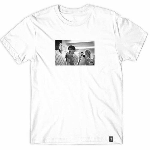 Girl x Beastie Boy Spike Jonze Series White Tee