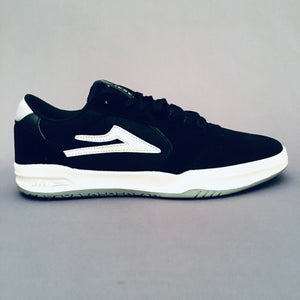Lakai Atlantic Black/Light Grey Suede