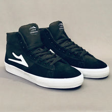 Load image into Gallery viewer, Lakai Newport Hi Black White