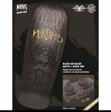 "Load image into Gallery viewer, SMA Black Bagged Natas Deck 10"" Deck"