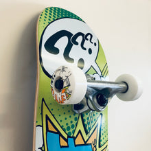 "Load image into Gallery viewer, Enuff Skateboard Pow II Green 7.25"" Starter Mini Complete"
