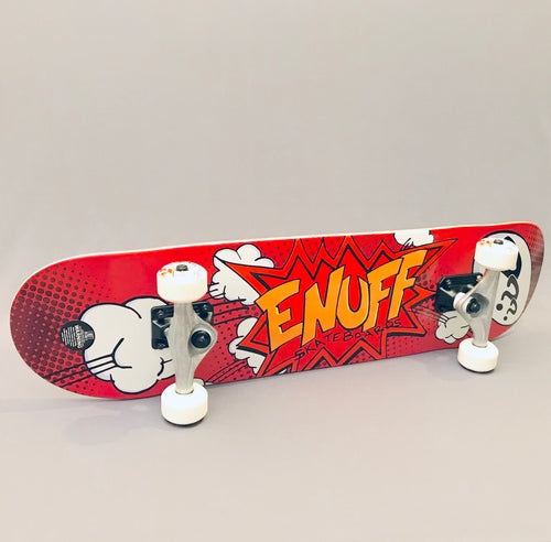 Enuff Skateboard Pow II Red 7.75
