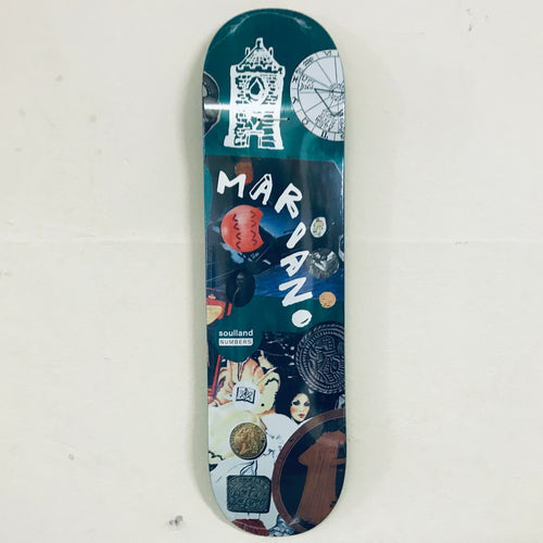 "Numbers Mariano Edition 7  8.1"" Deck"