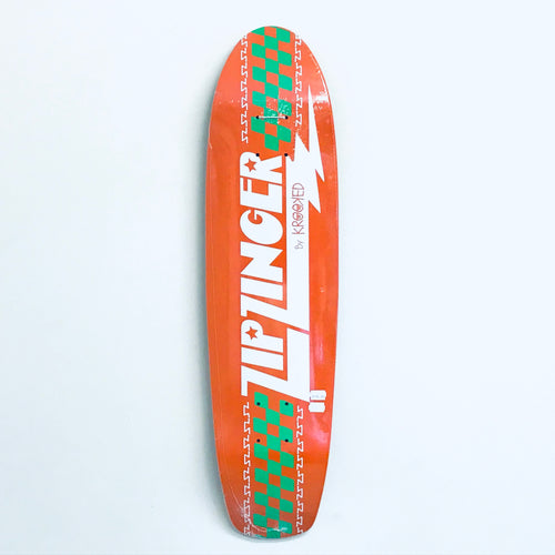 "Krooked Zip Zinger Cruiser 7.5"" Deck"
