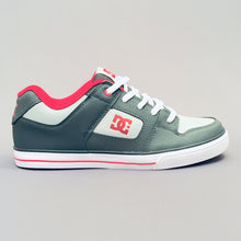 Load image into Gallery viewer, DC Shoes Pure (Youth) Grey/Grey/Red