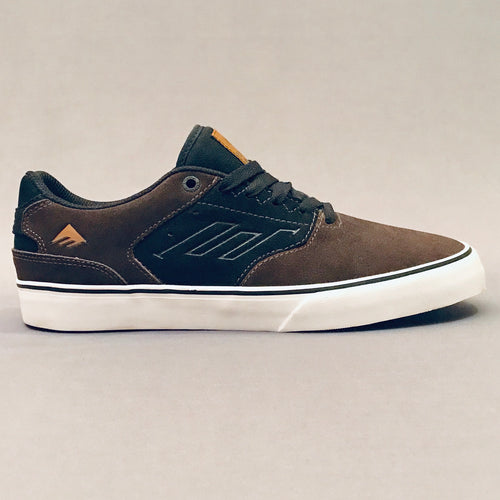 Emerica Reynolds Vulc Low Black Brown ***Last Pair UK 7***