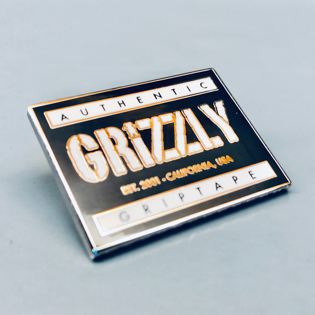 Grizzly Grip Authentic Lapel Pin