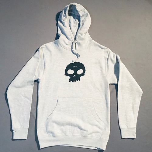 Zero Skull Hood Heather Grey